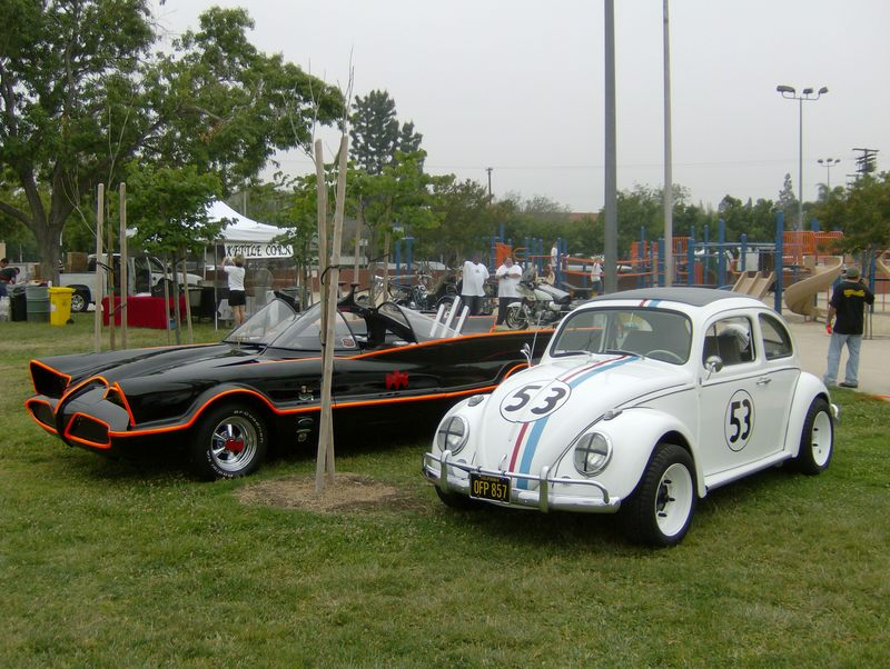 herbie and batmobile