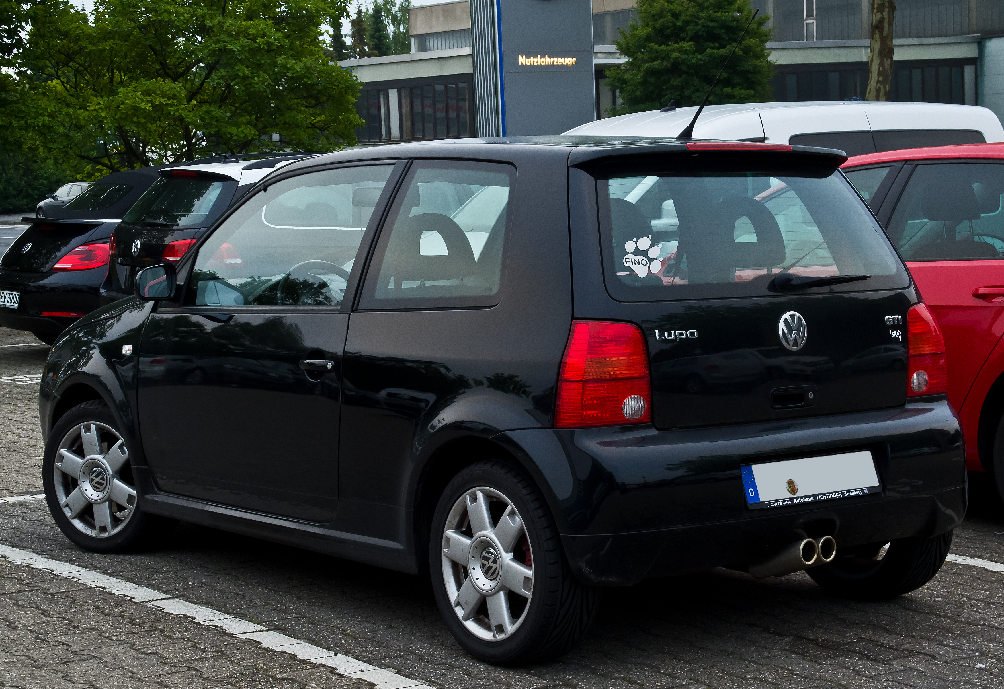 VW Lupo GTI – Heckansicht 15. Juni 2014 Hilden - The Volkswagen Lupo that never was