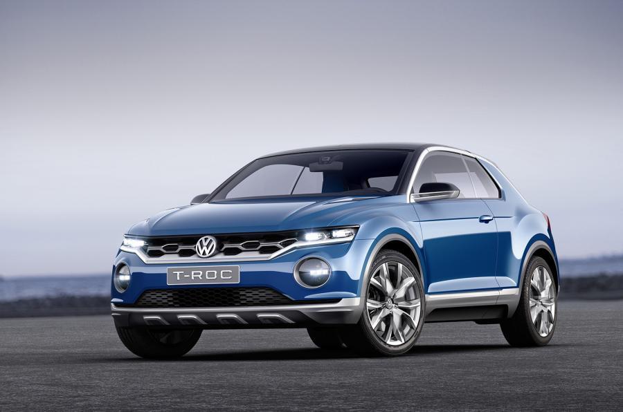 vw troc - Volkswagen is having two babies - Baby SUVs that is