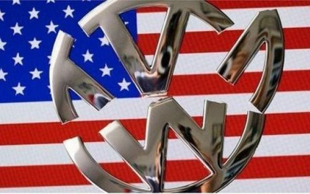 VW American Flag - Extra innings for Volkswagen and US government to work out diesel settlement