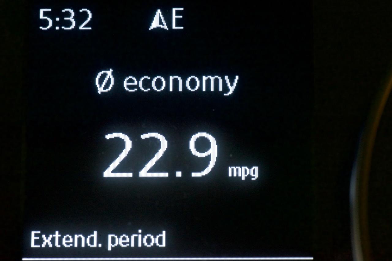 dsc 4778 1 - Lifetime MPG Improves to 22.9 MPG - Golf Alltrack
