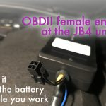 jb4 obdii female end 150x150 - How to Install JB4 on a Golf Alltrack