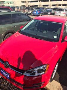 2017 Volkswagen Golf, Tornado Red