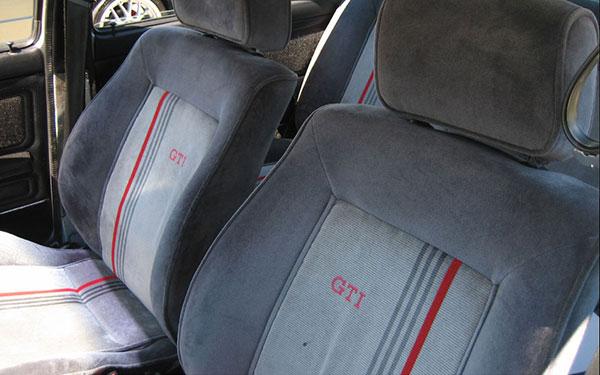 mk2recaro r - Seven Generations of Plaid GTI Seats -- Photos & Info