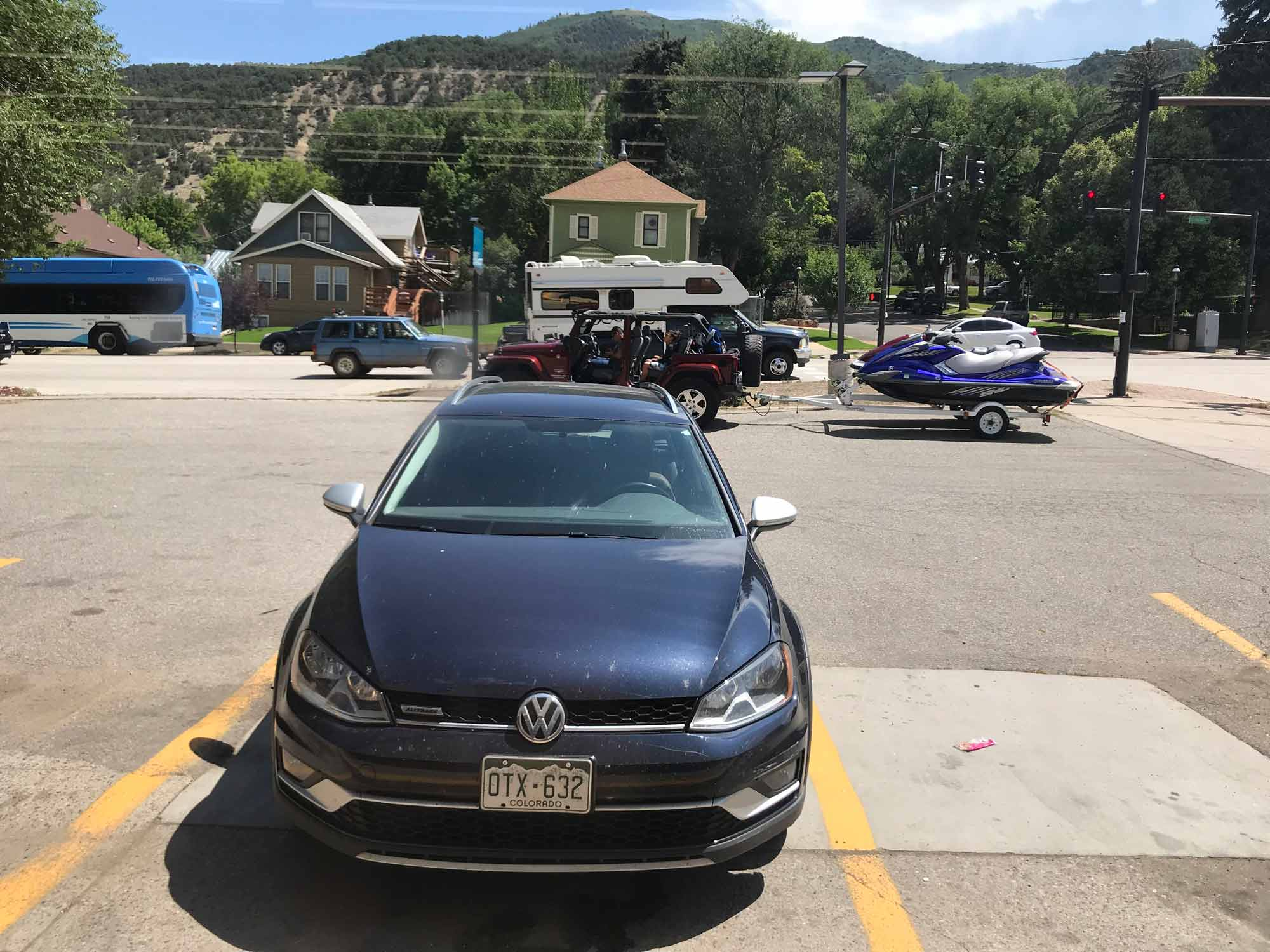 Glenwood Springs Colorado 5 - Highway MPG Report - Golf Alltrack - Mountain Twisties