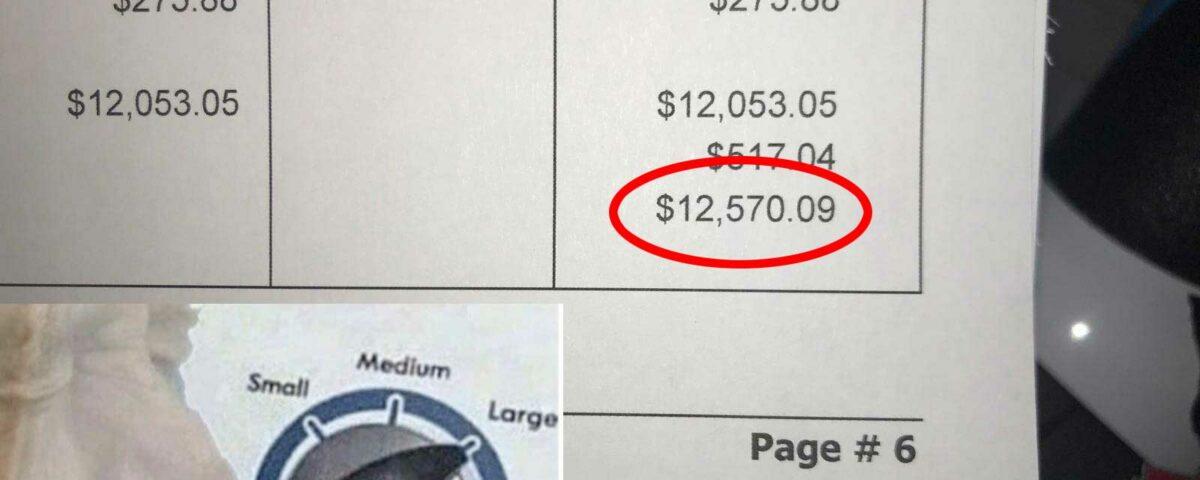 Oof! Alltrack repair invoice $12,570